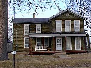 Home in Earlville IL 1948-1961